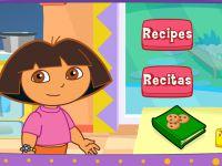 Dora beim Kochen